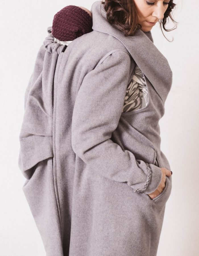 natte_grey_babywearing_maternity_wool_coat